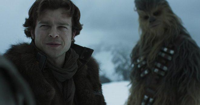 """Cena do trailer de """"Han Solo: Uma História Star Wars"""" (Reprodução)"""