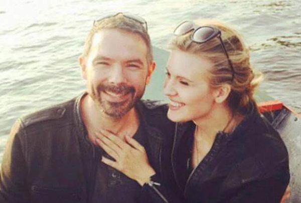 Brent Bushnell e Maggie Grace em foto publicada no Instagram (Reprodução)