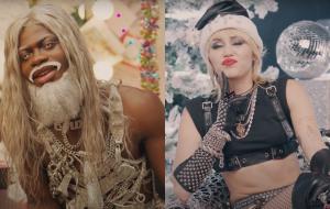 Amazon Music divulga trailer de especial natalino com Lil Nas X e Miley Cyrus