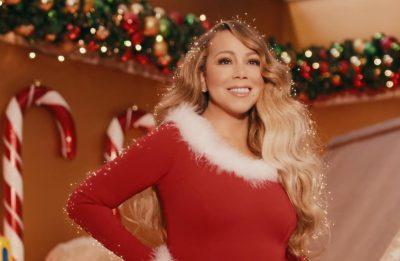"""Mariah Carey em clipe de """"All I Want For Christman Is You"""" (Reprodução)"""