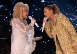 """Dolly Parton comenta participação de Miley Cyrus em álbum de Natal: """"Provavelmente não farei outro"""""""
