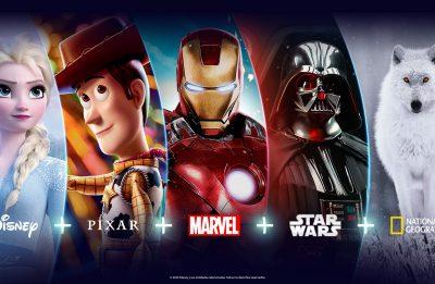 O Disney+ reúne obras da Disney, Marvel, Pixar, Star Wars e National Geographic (Divulgação)