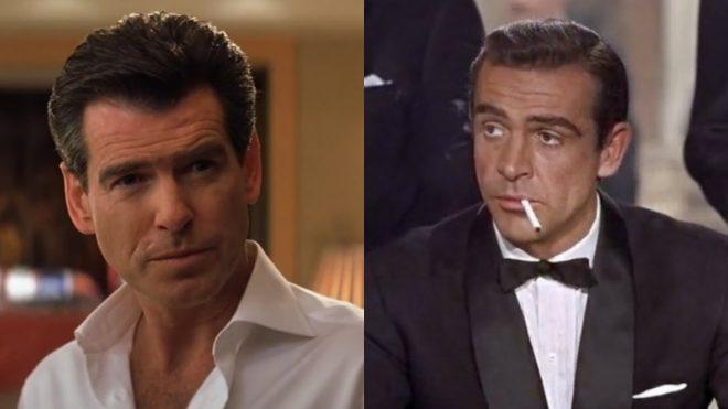 """Pierce em """"Die Another Day"""" (Reprodução)/Sean em """"007"""" (Reprodução)"""