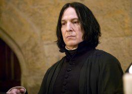 """Diários de Alan Rickman, o Snape de """"Harry Potter"""", serão publicados em forma de livro"""