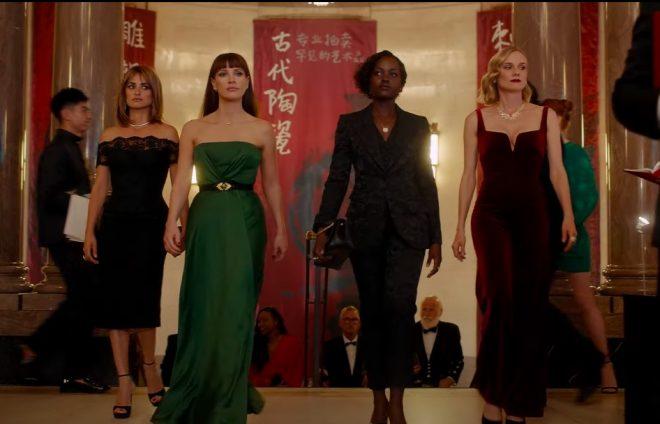 """Cena do trailer de """"As Agentes 355"""" (Reprodução)"""
