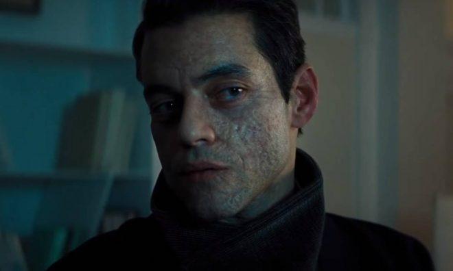 """Rami Malek em trailer de """"007 - Sem Tempo Para Morrer"""" (Reprodução)"""