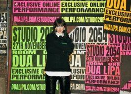 """Live """"Studio 2054"""", de Dua Lipa, quebra recorde com mais de 5 milhões de espectadores"""