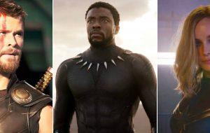 """Já viu? """"Thor 4"""", """"Pantera Negra 2"""" e """"Capitã Marvel 2"""" têm estreias adiadas"""