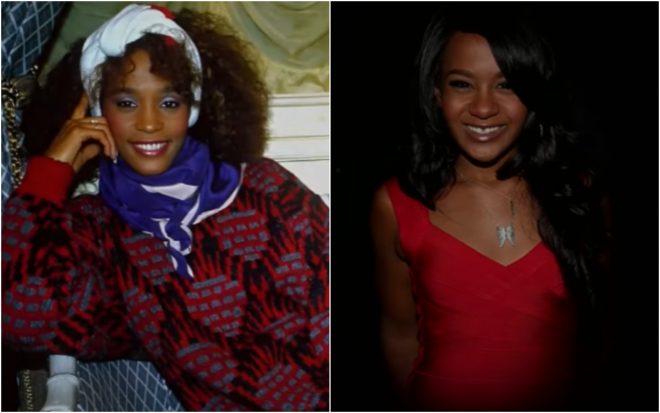Whitney e Bobbi: muitas coincidências permearam a vida de mãe e filha (Reprodução)