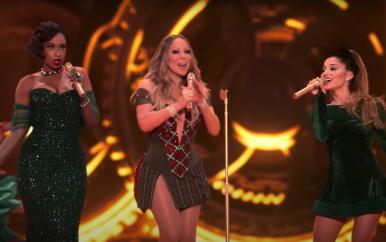 Jennifer Hudson + Mariah Carey + Ariana Grande!