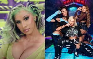 No Twitter, Cardi B diz estar animada para ouvir parceria de Luísa Sonza, Anitta e Pabllo Vittar