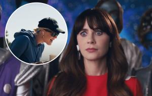 """Katy Perry convida Zooey Deschanel para estrelar clipe divertido de """"Not the End of the World"""""""