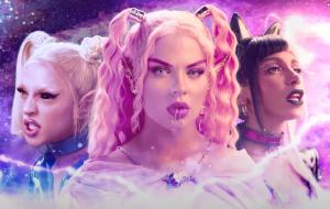 "Luísa Sonza, Anitta e Pabllo Vittar invadem o mundo dos games no clipe fabuloso de ""Modo Turbo"""