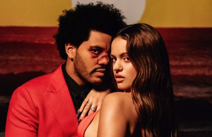 The Weeknd e Rosalía em remix