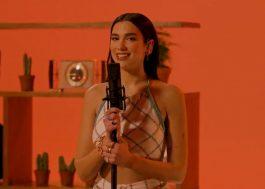 """Dua Lipa canta hits do """"Future Nostalgia"""" em apresentação divertida para a série Tiny Desk"""