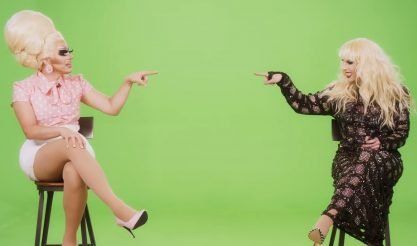 Trixie e Katya apresentadoras