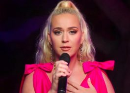 "Deslumbrante, Katy Perry canta ""Only Love"" em evento virtual beneficente"