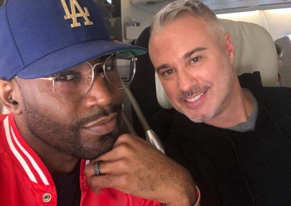 Karamo Brown e Ian Jordan em foto publicada no Instagram (Reprodução)