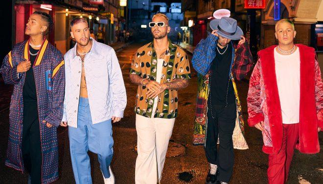 Single chega quarto anos depois da primeira colaboração entre o cantor e o grupo (Divulgação)