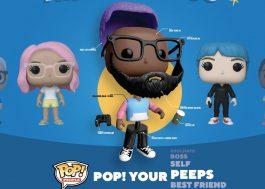 """""""Pop! Your Peeps"""": Funko anuncia linha de bonecos customizáveis"""
