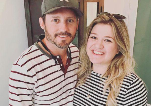 Brandon Blackstock e Kelly Clarkson em foto publicada no Instagram (Reprodução)