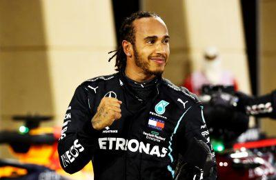 Lewis Hamilton no F1 Grand Prix of Bahrain (Foto: Getty Images)