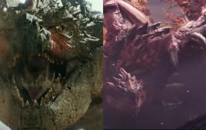 """""""Monster Hunter"""": vídeo compara monstros do filme e dos jogos da franquia"""