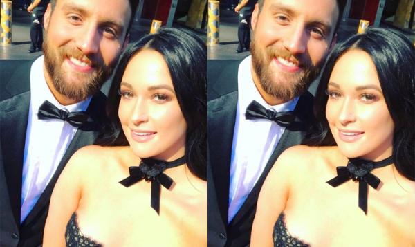 Ruston Kelly e Kacey Musgraves em foto publicada no Instagram (Reprodução)