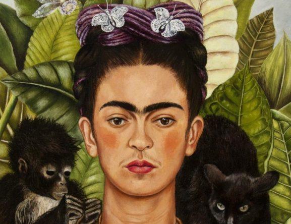 Auto-retrato pintado por Frida (Reprodução)