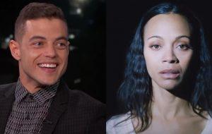 """Rami Malek e Zoe Saldana estrelam próximo filme de David O. Russell, diretor de """"Trapaça"""" e """"O Lado Bom da Vida"""""""