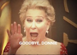 "Bette Midler se despede de Donald Trump com paródia de ""Hello, Dolly"""