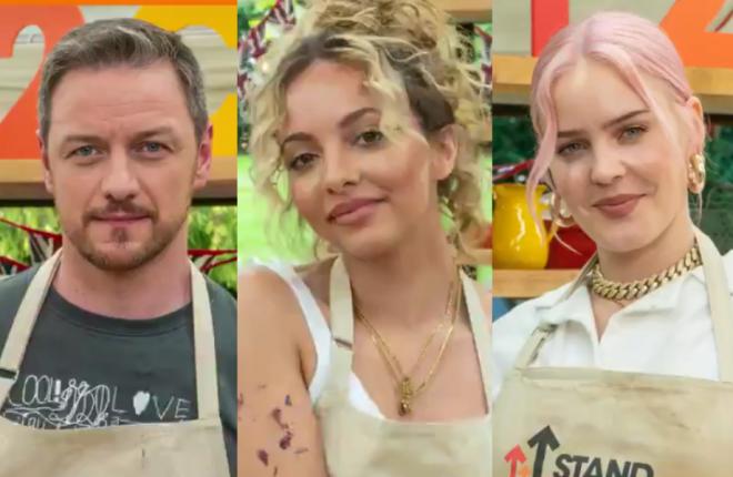 Divulgada a lista de participantes do Celebrity Bake Off UK ((Reprodução/Twitter)