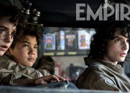 """Mckenna Grace e Finn Wolfhard aparecem em nova foto de """"Os Caça-Fantasmas: Mais Além"""""""