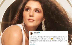 """Jessie Ware diz trabalhar em edição especial do álbum """"What's Your Pleasure?"""""""