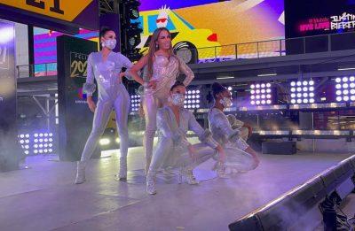Cantora é a primeira brasileira a se apresentar no evento (Crédito: soubpmcom)