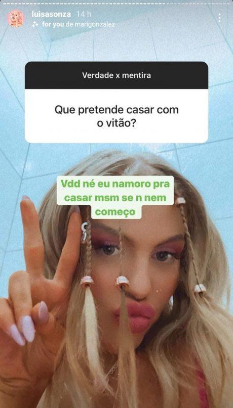 Luísa Sonza via Instagram (Reprodução)