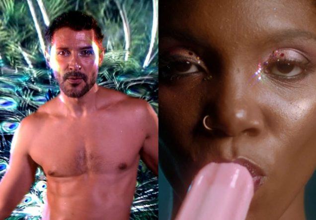 O clipe foi dirigido por Júlia Rocha e Daniel Venosa (Reprodução)