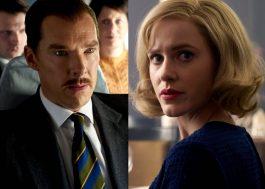 """""""The Courier"""": filme com Benedict Cumberbatch e Rachel Brosnahan ganha primeiras imagens"""
