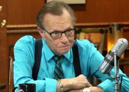 Morre o apresentador Larry King aos 87 anos