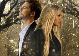 """David Bisbal conta ao Papel Pop sobre parceria com Carrie Underwood no single """"Tears Of Gold"""": """"Foi ela quem quis gravar parte da música em espanhol!"""""""