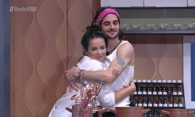 Nas redes sociais, possível casal tem gerado engajamento (Foto: Reprodução/TV Globo)