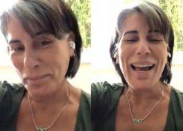 Com paródia, Gloria Pires explica para a internet que não é mãe do Fiuk