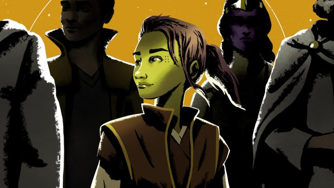 Jedi Venestra Rwoh é destaque na trama (Foto: Reprodução)