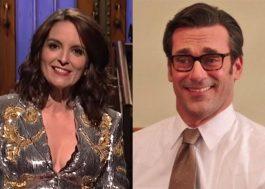 """Tina Fey e Jon Hamm entram para elenco da comédia """"Maggie Moore(s)"""""""