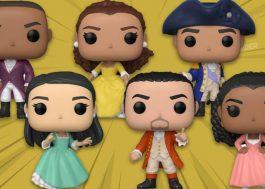 """Funko anuncia colecionáveis baseados em personagens de """"Hamilton"""""""