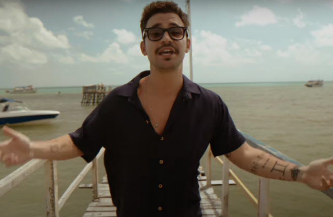 """Clipe de """"Jack Johnson"""" foi gravado no Rio Grande do Norte (Reprodução/YouTube)"""