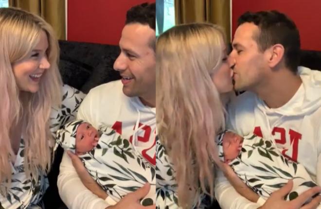 Violet é filha de Joss Stone com o namorado Cody DaLuz (Reprodução/Facebook)