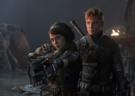 "Nanda Costa revela visual de personagem em novas fotos do filme ""Monster Hunter"""