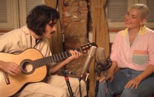 """Duda Beat e Zé Ibarra se reúnem no delicado registro acústico de """"Bédi Beat"""""""