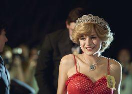 """Emma Corrin, de """"The Crown"""", vence o prêmio de Melhor Atriz em Série de Drama no Golden Globes"""